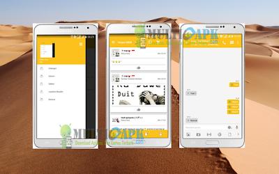 BBM Mod Snapchat v2.13.0.26 APK