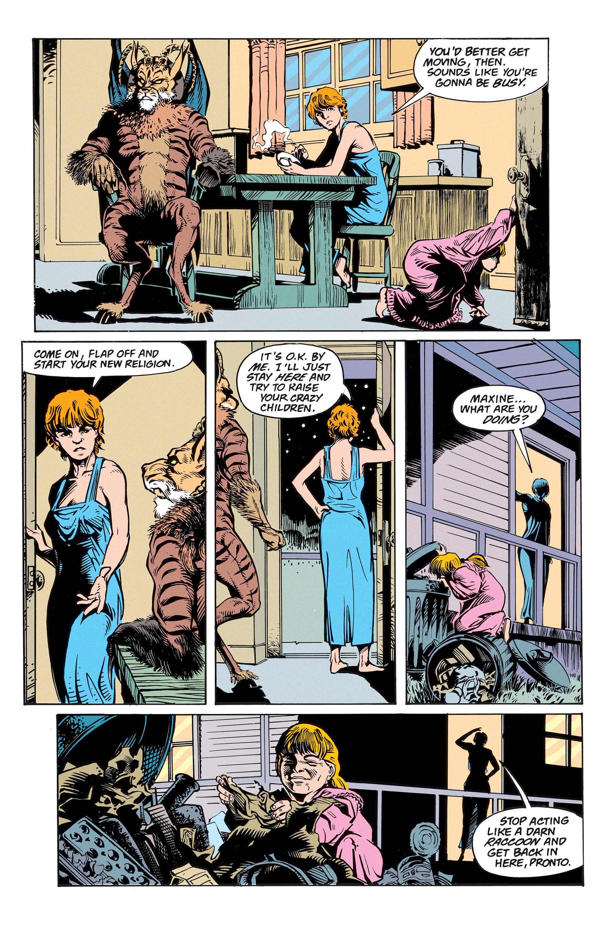 Read online Animal Man (1988) comic -  Issue #56 - 35
