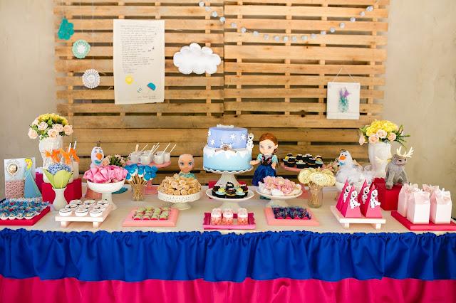 Frozen, aniversário, releitura, decoração, diy, faça você mesma, inspirações, tema frozen, palet