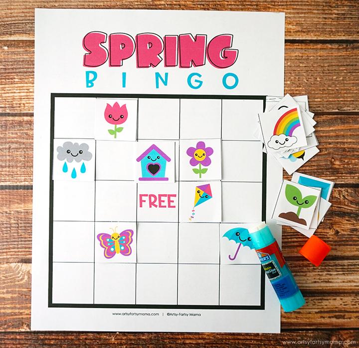 Free Printable Spring Bingo
