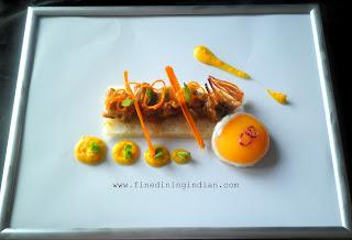 best fine dining indian food presentation image
