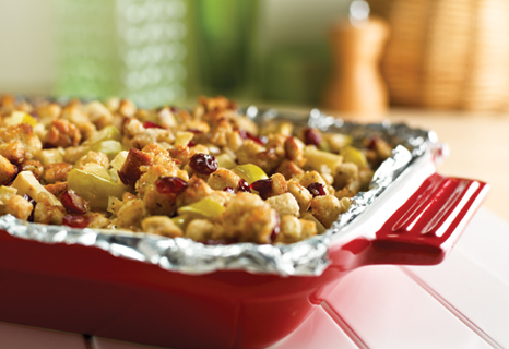 Pond Brook Cookbook Apple Cranberry Walnut Stuffing