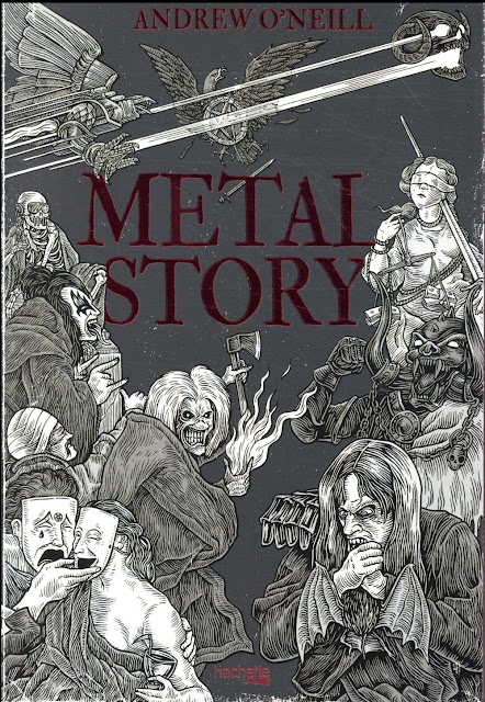Andrew O'Neill Metal Story Editions Hachette 2018