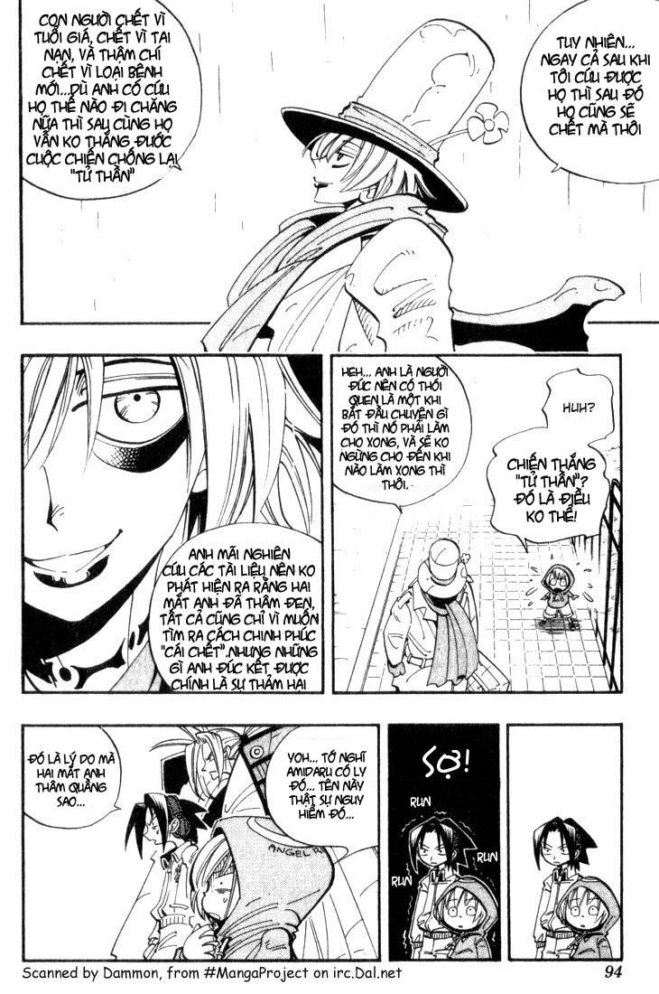Shaman King [Vua pháp thuật] chap 40 trang 9