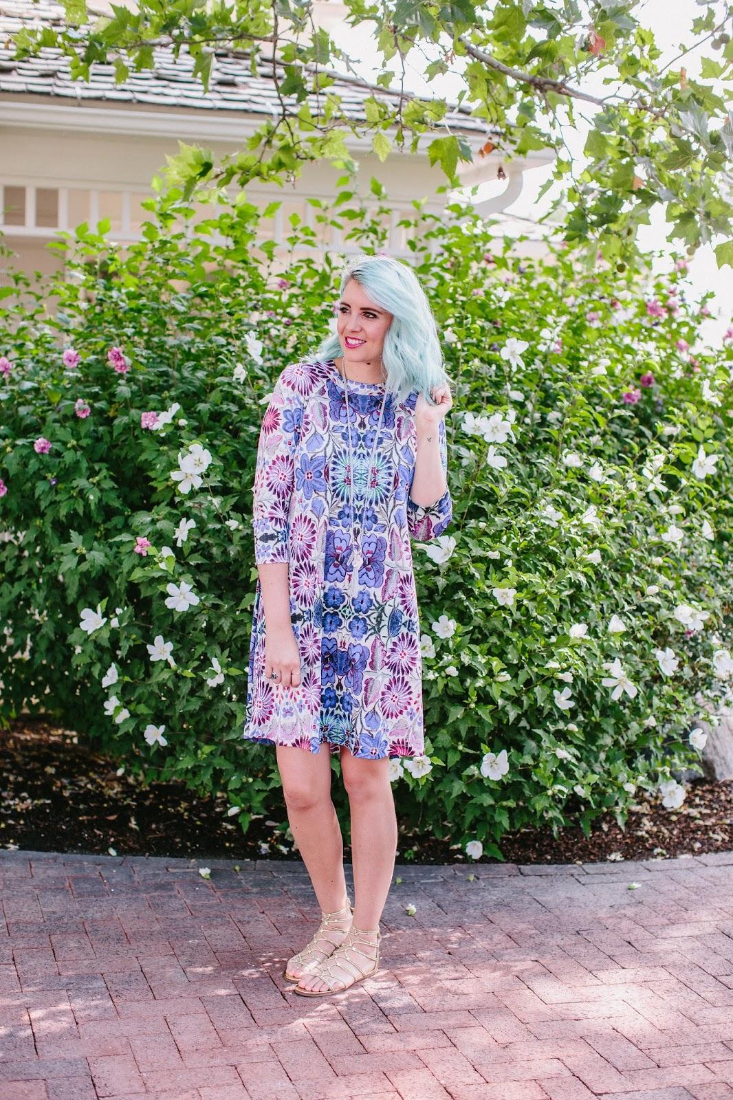 Utah Fashion Blogger, Summer Dress