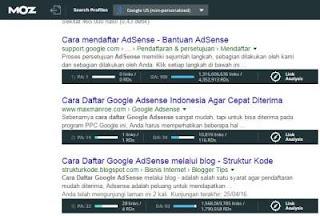 Mendapatkan Backlink di Url Postingan Penelusuran Google