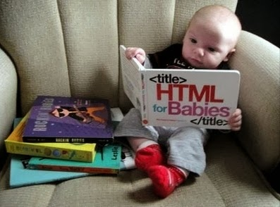 Funny Html Babies Book Joke Picture