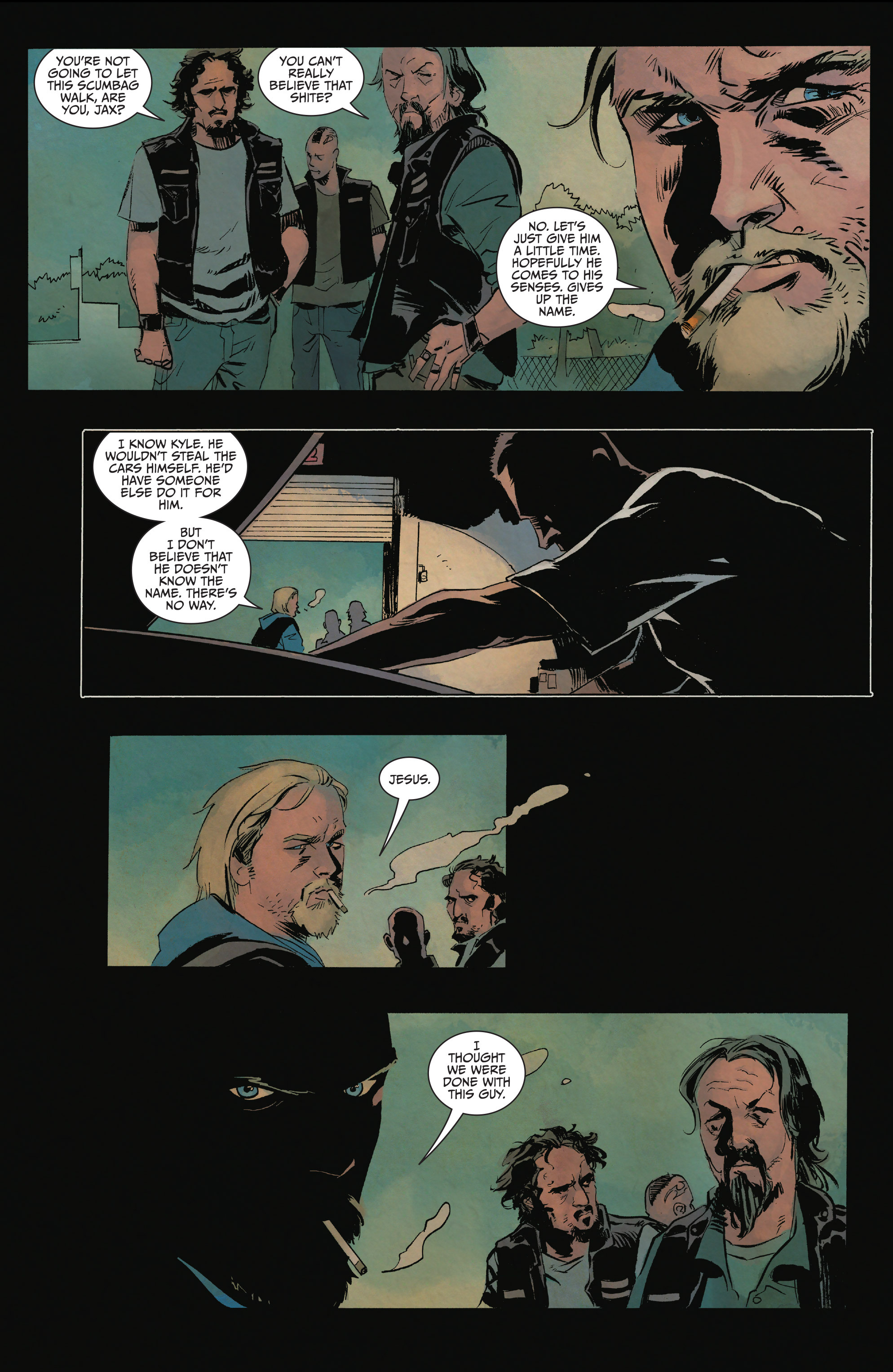 Read online Sons of Anarchy comic -  Issue #15 - 11