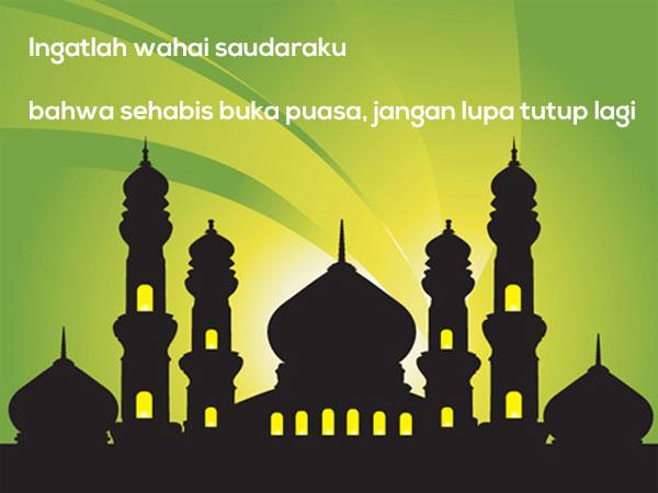 Gambar Kata Mutiara Islami versi Pepatah dan Petuah Lucu 2