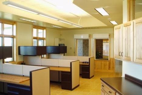 ide desain interior kantor minimalis modern - desain