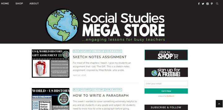 Social Studies Mega Store