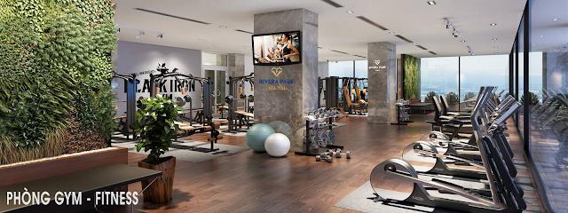 Phòng tập Gym chung cư Rivera
