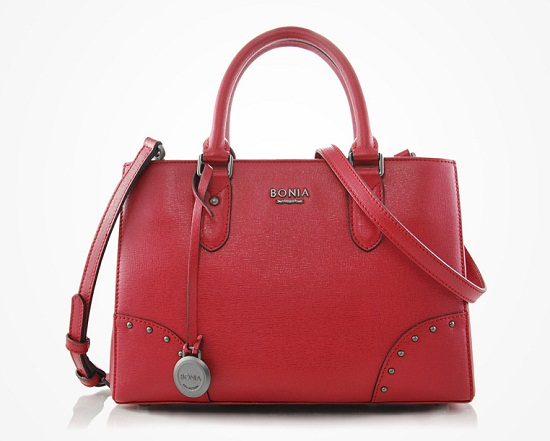 Bonia Scarlet Ibis Handbag