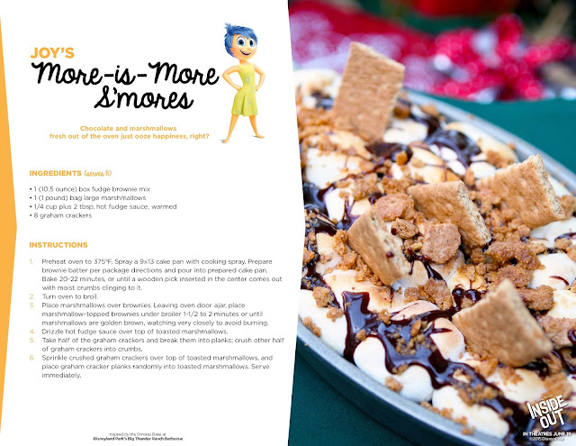 5 Yummy Recipes Inspired by the Disney Movie Inside Out  via www.productreviewmom.com