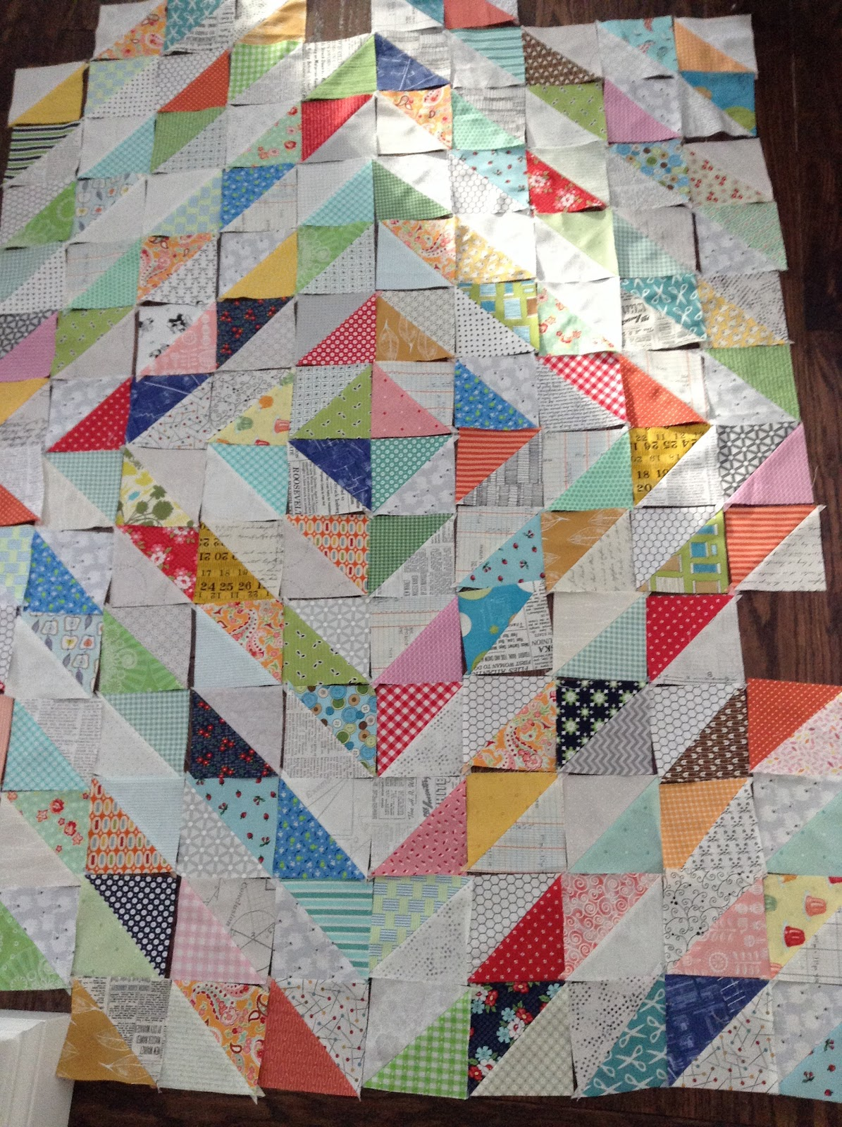 Northern deb quilts another scrap quilt for Scrap quilt