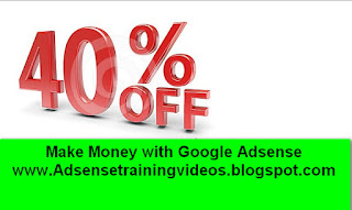 Mere Money Making Google Adsense Hindi DVD per 40% ka discount.Last date 30 June 2016