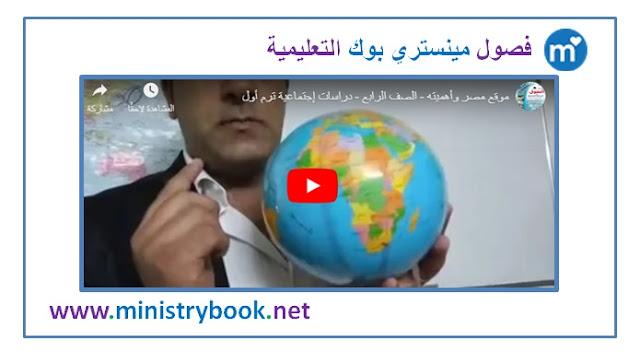 موقع مصر وأهميته