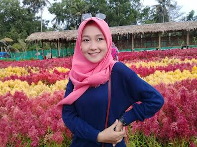 Spot Foto Taman Bunga Tali Asmoro Cilacap