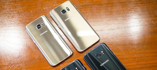 Perbedaan Samsung Galaxy S7 dan Galaxy S7 Edge