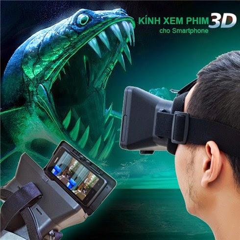 kính thực tế ảo xem phim 3D oneX