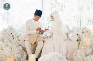 Majlis pernikahan Mia Ahmad dan Mohd Izham Tarmizi