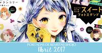 Portadas de Revistas Shojo Abril 2017