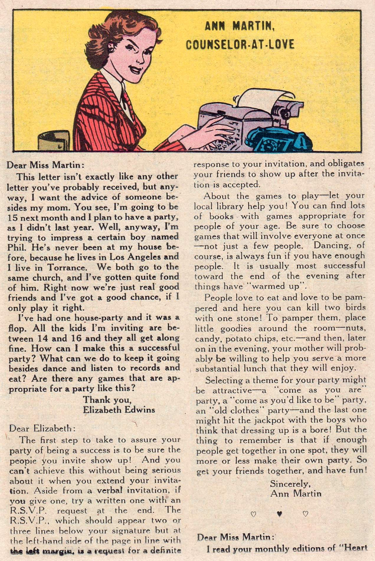 Read online Secret Hearts comic -  Issue #46 - 17