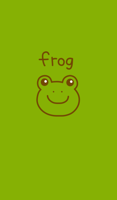 Frog and simple from japan