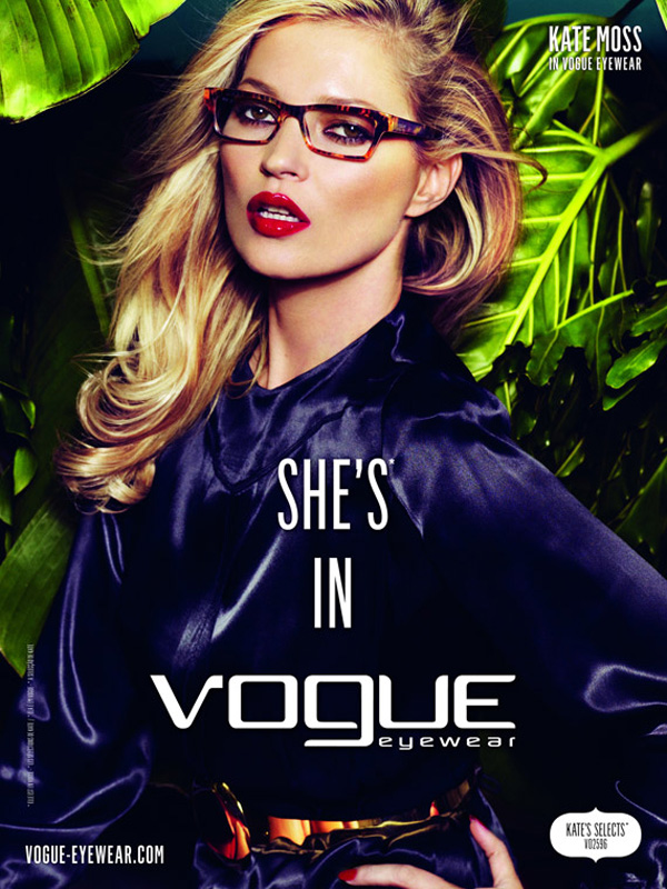 51db7bad309 Toni s Fashion Style  Kate Moss for Vogue Eyewear S S 2011 Campaign