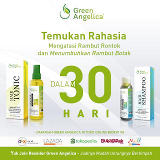 Hair Tonic GreenAngelica, Shampoo Green Angelica, Penumbuh Rambut Botak
