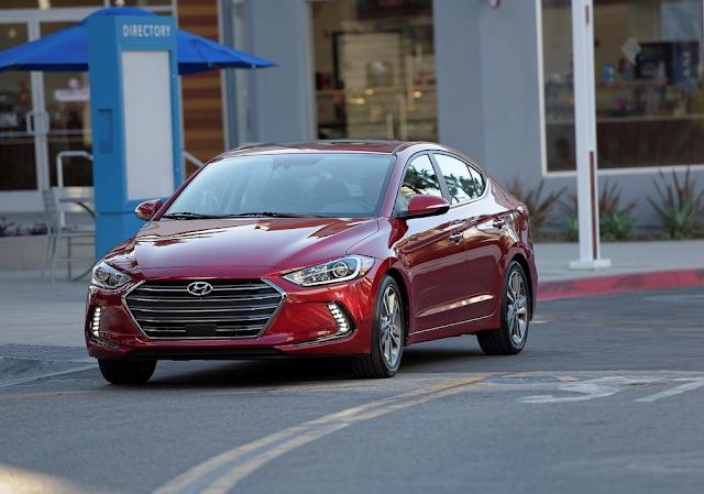 2017 Hyundai Elantra red