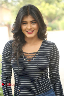 Hebah Patel Stills in Jeans at Nanna Nenu Naa Boyfriends Teaser Launch ~ Celebs Next