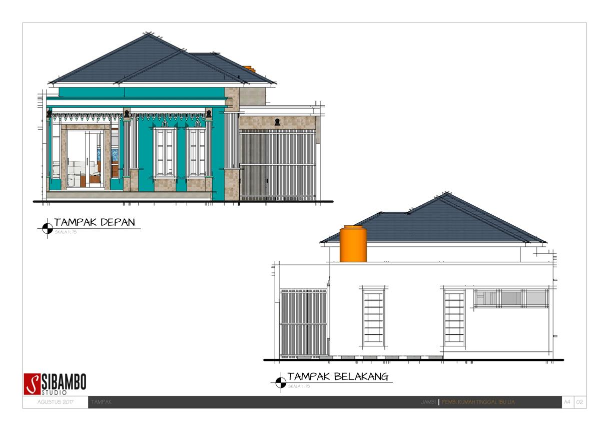 Denah Rumah Minimalis Ukuran 7x7 Top Rumah