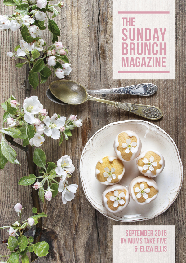 The Sunday Brunch Magazine - September 2015 Edition by Eliza Ellis & Mums Take Five featuring recipes, DIY projects and lifestyle articles from all your favorite bloggers!