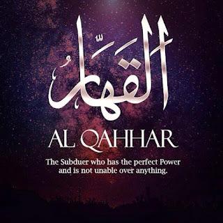 Asmaul Husna - Al Qohhar (Yang Maha Pengunjuk Kekuatan) - (pinterest.com)