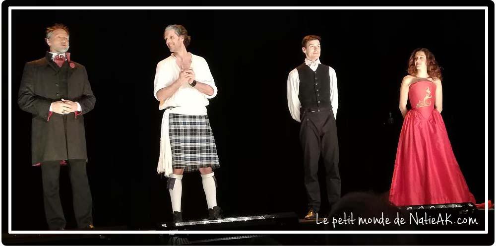 Le portrait de Dorian Gray théâtre Paris
