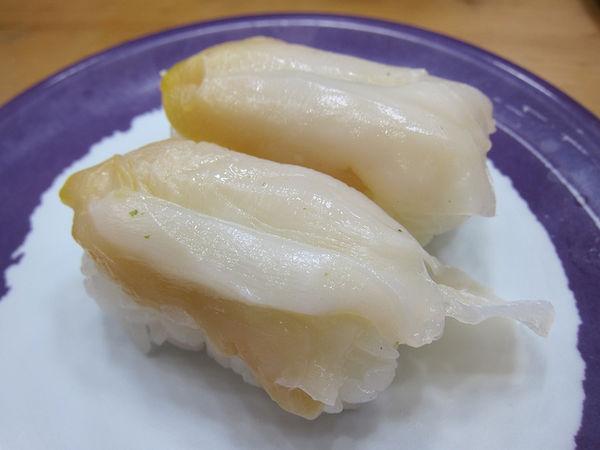 ซูชิหน้าหอยสึบุไก หอยเวลก์ (Tsubugai)