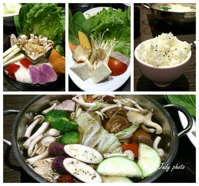 【斗六美食】北海道昆布聚火鍋-也提供素食套餐喔~(葷食)   Enlly愛吃草~吃毒太多那就吃素食吧~!!