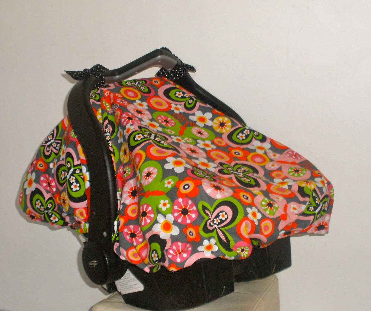 Quick Tips Sewing Tutorial Car Seat Canopy With Elastic