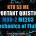 Mechanics of Fluids ME203 Important Questions | Module-2