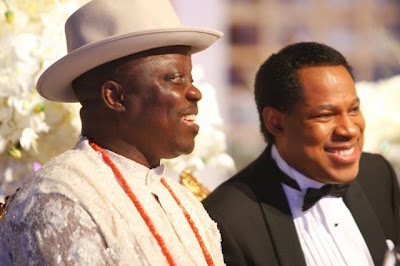 590084 pastor chris2 jpgd62b8fb0cb0f746ef2e35a0d40a16acc Obasanjo was spotted at pastor Chris Oyakhilomes birthday celebration