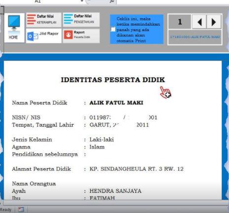 Download Aplikasi Raport K13 Sesuai Permendikbud No 24 Tahun 2016