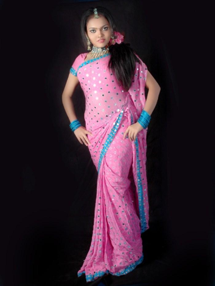 Nikhisha-Hot Tamil Actress- Sexy Item Dancer- Seducing In Saree- Exposed Navel Busty Boobs-Sexy -9635