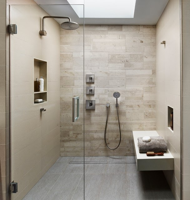 Hogares frescos 20 fascinantes ideas de dise o en duchas - Ducha de diseno ...