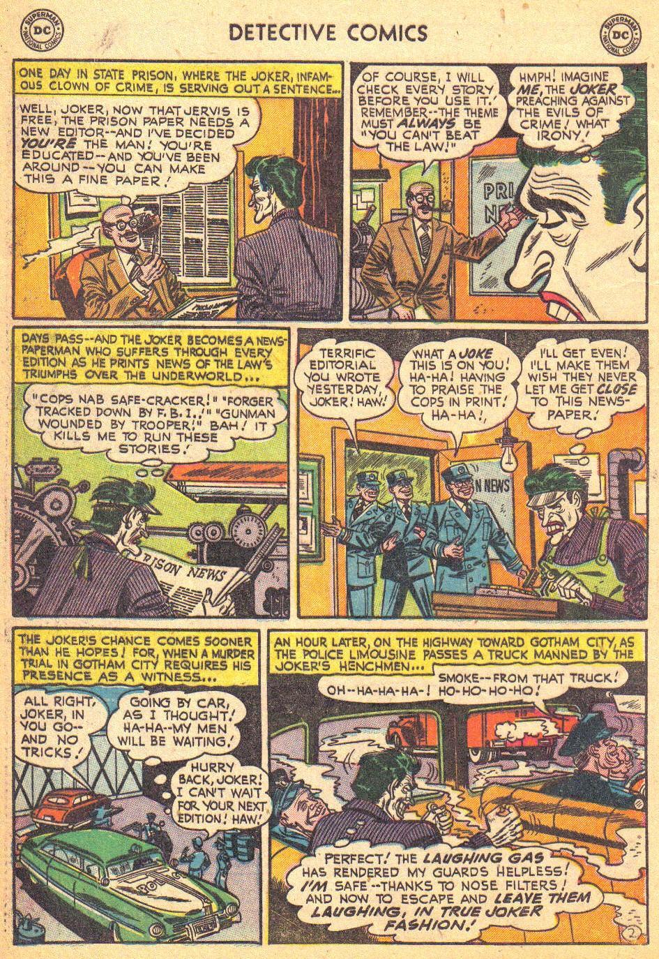 Detective Comics (1937) 193 Page 3