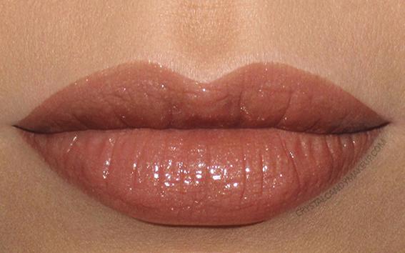 Buxom Shimmer Shock Lipstick Swatch Volatile