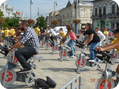 bloggerii pe bicicleta