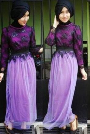 30+ Model Baju Muslim Brokat Terbaru 2020: Desain Cantik ...