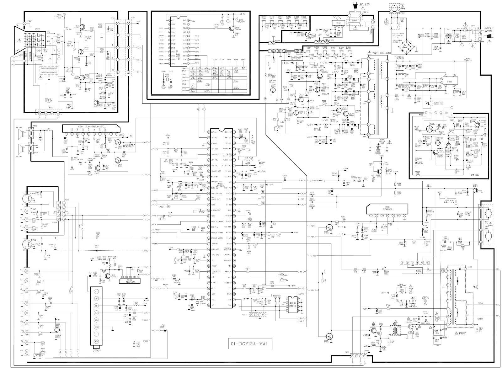 tcl14175 schematic diagram