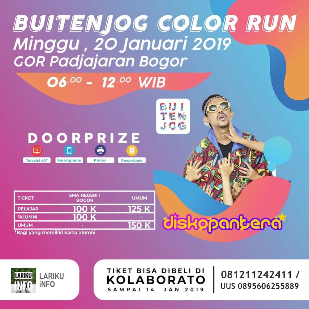 Buitenjog Color Run • 2019